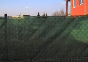 Stínící clony na plot